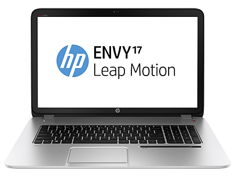 Serie de PC Notebook HP ENVY 17-j100 Leap Motion SE