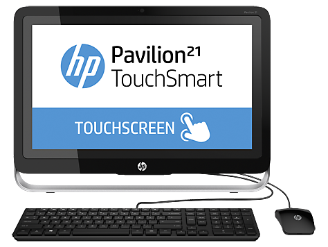 PC desktop All-in-One HP Pavilion TouchSmart 21-h000