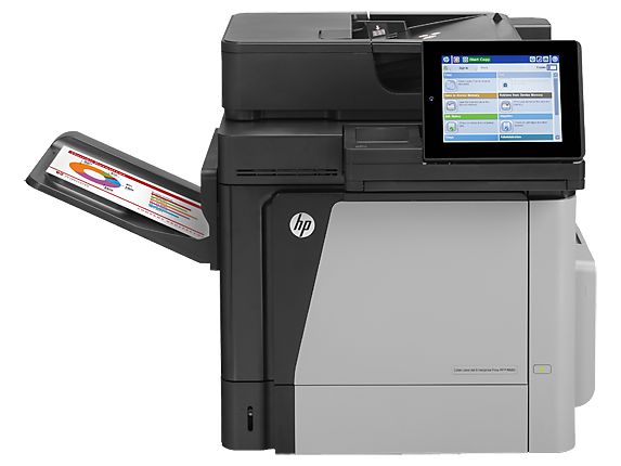 HP Color LaserJet Enterprise MFP M680dn - Center
