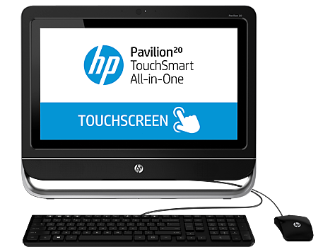 PC Desktop HP Pavilion 20-f400 TouchSmart All-in-One