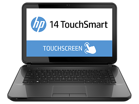 PC Notebook HP serie TouchSmart 14-d000