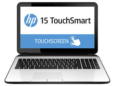 HP 15-d000 TouchSmart bærbar PC-serie