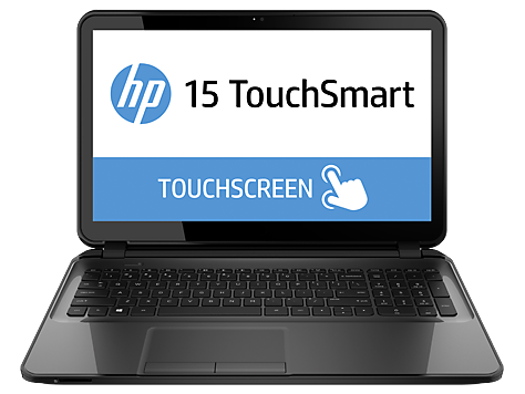 PC Notebook HP serie TouchSmart 15-d000