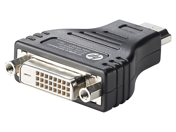 HP HDMI to DVI Adapter - Center