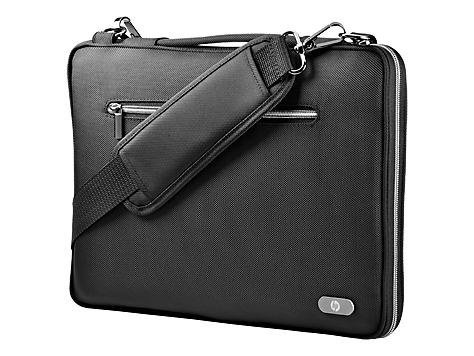 HP 14 Black Notebook Sleeve