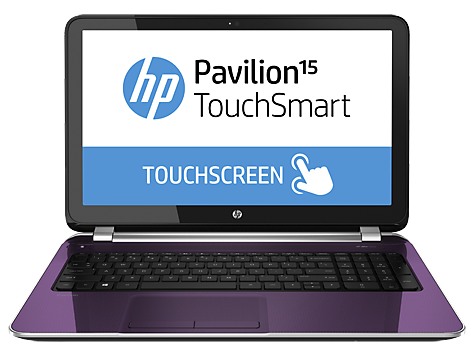 HP Pavilion TouchSmart 15-n100 Notebook PC series