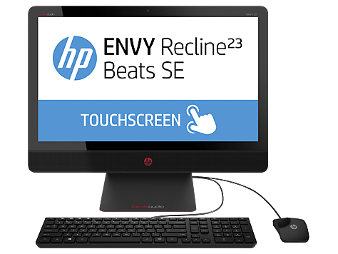 Serie de PC Desktop HP ENVY Recline 23-m100 Touch Beats SE All-in-One