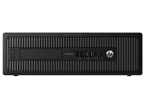 Modelo base de PC HP ProDesk 600 con factor de forma reducido G1