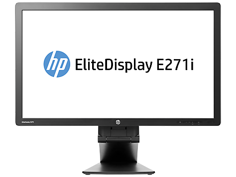 HP EliteDisplay E271i 27-inch IPS LED-backlit monitor
