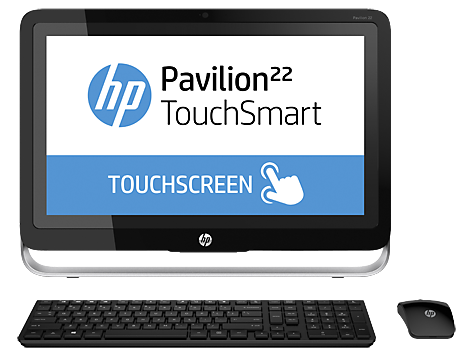 Desktop HP Pavilion All-in-One serie 22-h100 TouchSmart