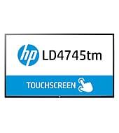 Pantalla LED interactiva de 46.96 pulgadas HP LD4745tm Digital Signage