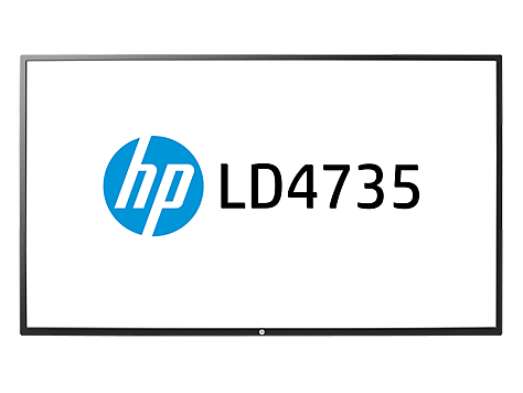 Pantalla LED de 46.96 pulgadas HP LD4735 Digital Signage