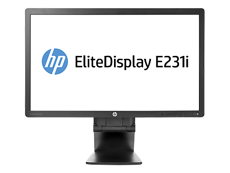 Monitor IPS LED HP EliteDisplay E231i de 23 polegadas retroiluminado
