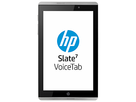 HP Slate 7 tablet con voz