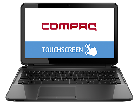 PC Notebook Compaq serie TouchSmart 15-a000