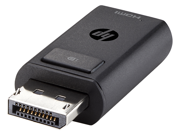HP DisplayPort to HDMI 1.4 Adapter - Right rear