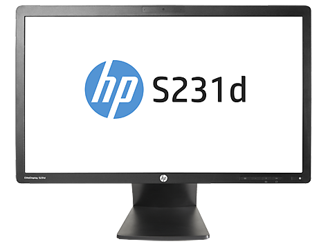 HP EliteDisplay S231d 23 英寸 IPS LED 笔记本背光显示器