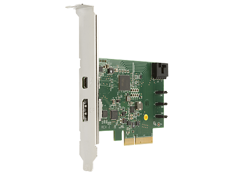 Carte E/S PCIe HP Thunderbolt-2, 1 port