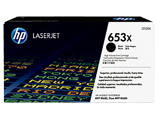 HP 653 Toner Cartridges