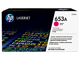 HP 653A Magenta Original LaserJet Toner Cartridge, CF323A
