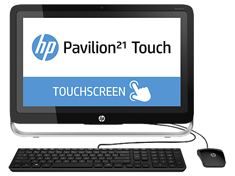 HP Pavilion Touch 21-H000 All-in-One Desktop PC-Serie