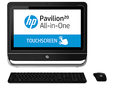 PC desktop All-in-One HP Pavilion Touch 20-f300