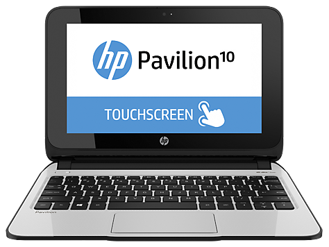 Serie de PC Notebook HP Pavilion 10 Touch 10-e000