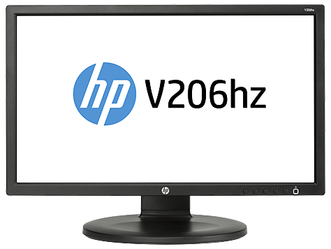 HP V206hz 20-inch LED Backlit Monitor