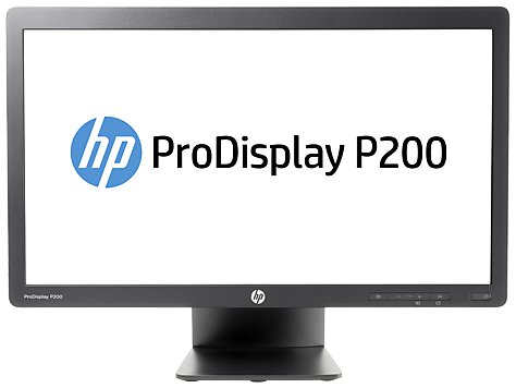 Monitor retroiluminado LED HP ProDisplay P200 de 19,5 pulgadas