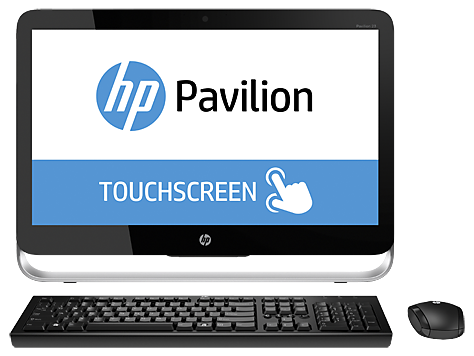 HP Pavilion 23-p100 All-in-One desktop pc-serien