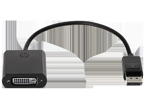 HP DisplayPort to DVI Adapter - Center