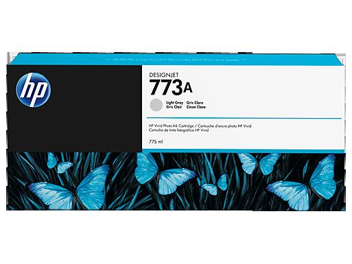 HP 773A 775-ml Light Gray DesignJet Ink Cartridge