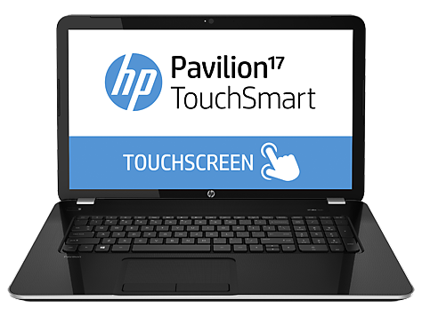HP Pavilion 17-e100 TouchSmart Notebook PC-serien