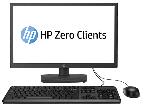 Cliente HP t310 All-in-One Zero