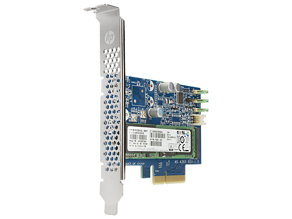 HP Z Turbo Drive 256GB PCIe (AHCI) Solid State Drive - Right