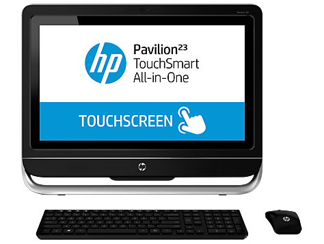 PC desktop All-in-One HP Pavilion TouchSmart 23-h100