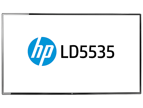 צג HP LD5535 LED Digital Signage, בגודל 55 אינץ'