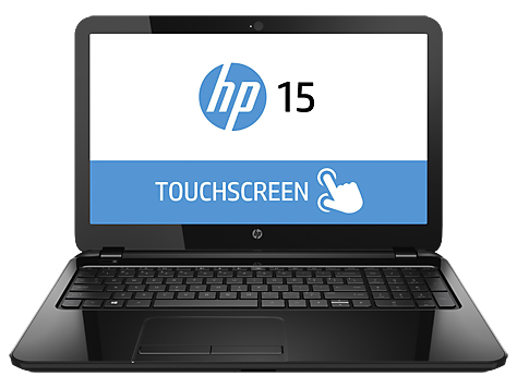 PC Notebook HP série 15-r000 TouchSmart