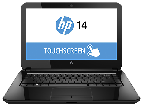 HP 14-r100 TouchSmart bærbar pc-serien