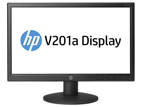 HP V201a 19.45-inch LED Backlit Monitor