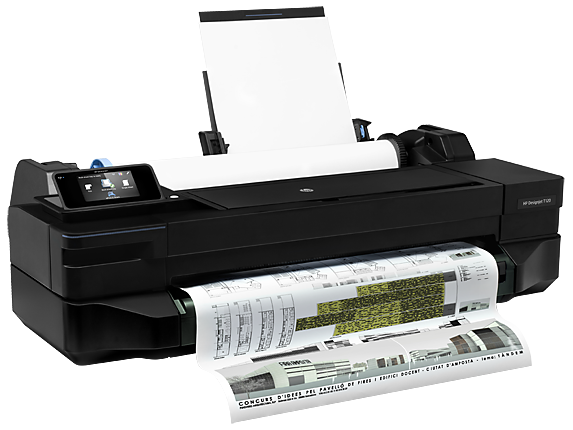 HP DesignJet T120 24-in Printer - Right