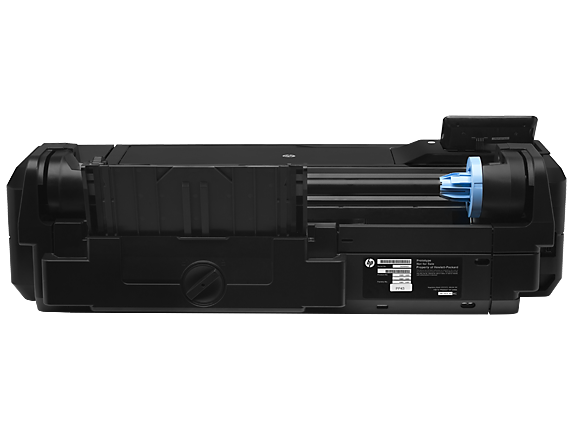 HP DesignJet T120 24-in Printer - Rear