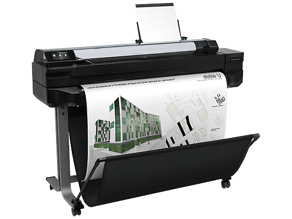 Hp designjet t520 36 in printer cq893a b1k for Plotter de mesa