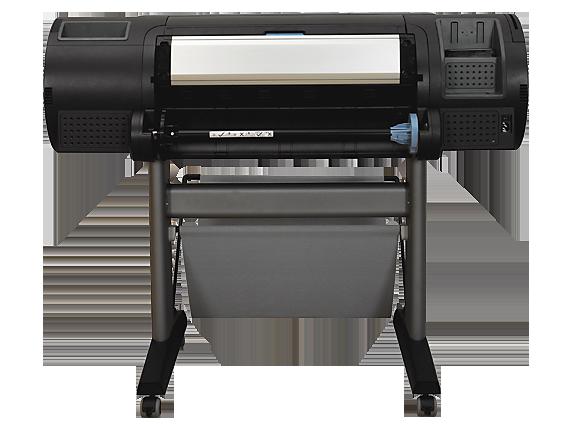 HP DesignJet Z2100 24-in Photo Printer - Rear