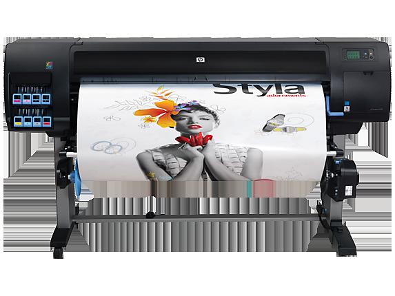 HP Designjet Z6200 60-in Photo Printer - Left