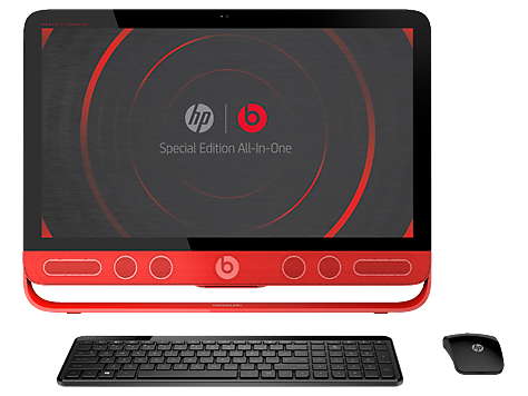 HP Beats Special Edition 23-N100 All-in-One-Desktop PC-Serie