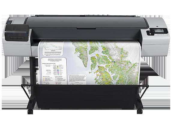 HP DesignJet T795 44-in Printer - Center