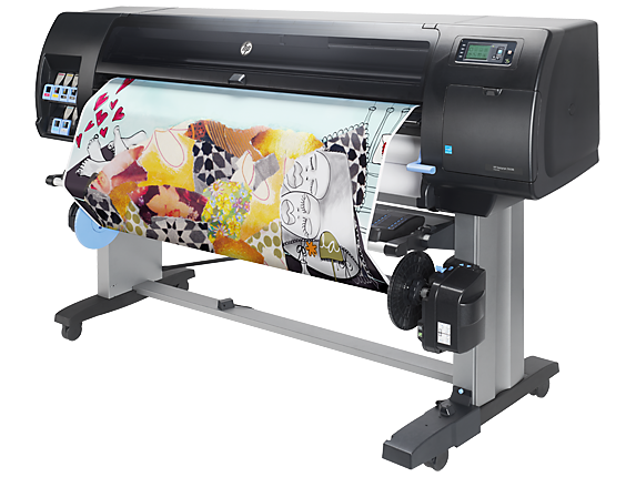 HP DesignJet Z6600 60-in Production Printer - Left
