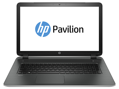 Serie notebook HP Pavilion 17-f100