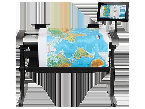 Escáner de alta definición HP DesignJet Pro